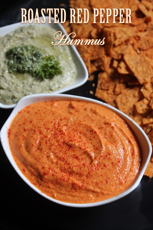 Roasted red pepper hummus recipe yummy tummy for Recipe red pepper hummus