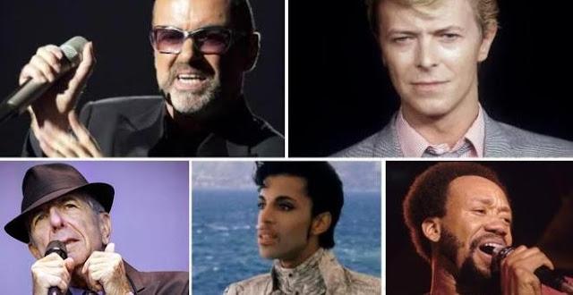 Grandes estrellas de la música