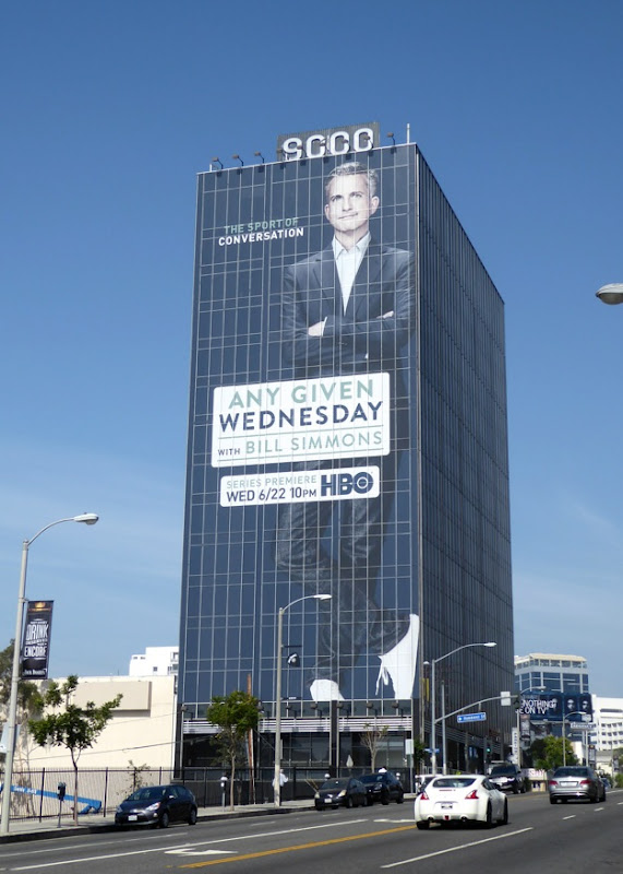 Any Given Wednesday Bill Simmons billboard