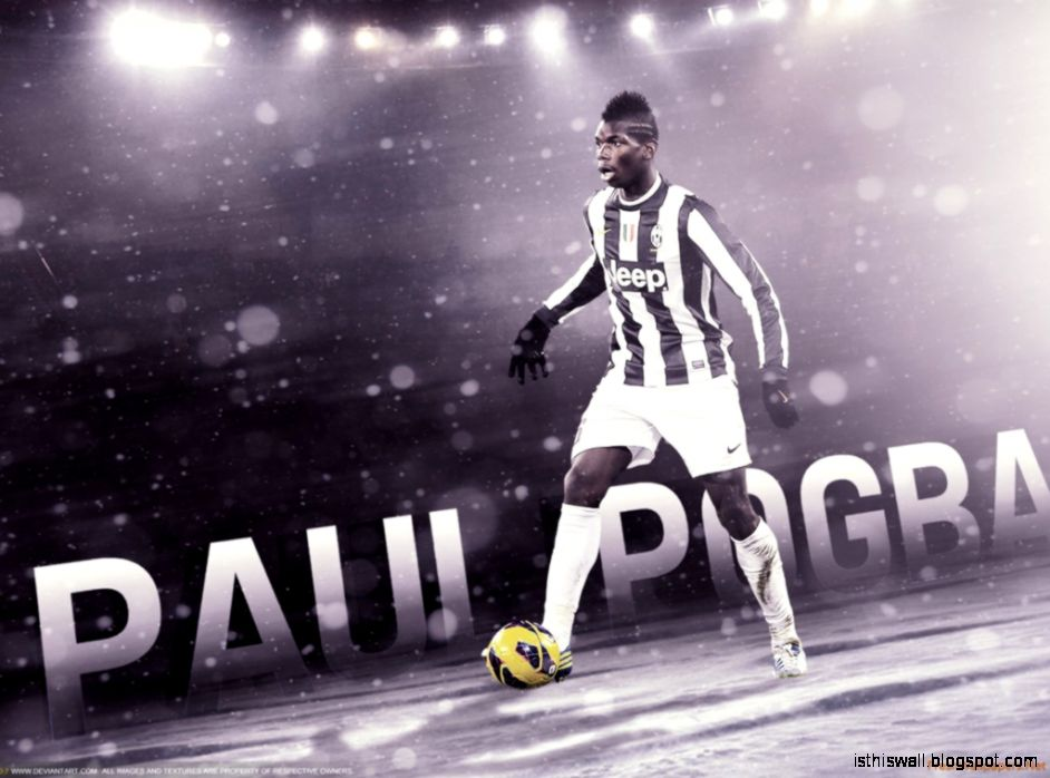 Paul Pogba Widescreen Wallpaper