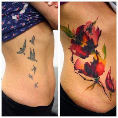tatuaje cubierto con otro
