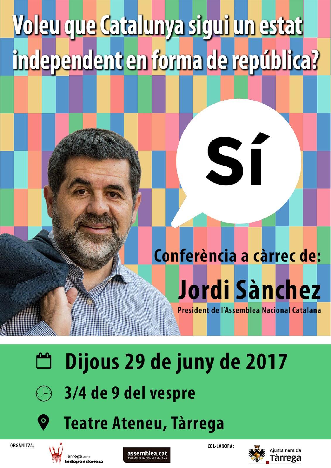 Jordi Sànchez, president de l'ANC