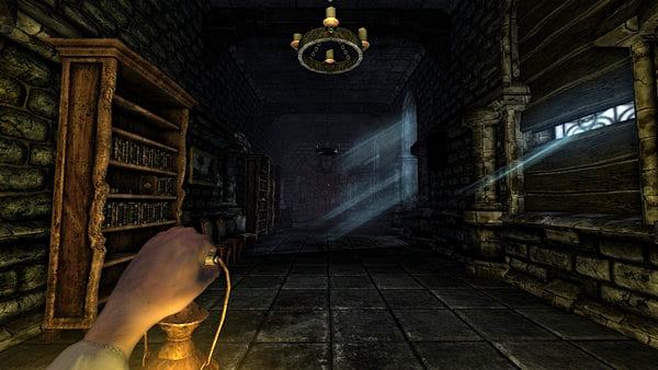 Amnesia: The Dark Descent. jogos FPS de terror para PC