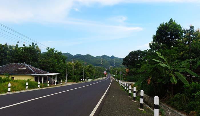 Jalan Nasional yang Sudah Mulus