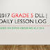 Grade 5 Daily Lesson Log for SY 2017-2018