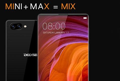Conoce el nuevo Doogee Mix el Smartphone sin Bordes