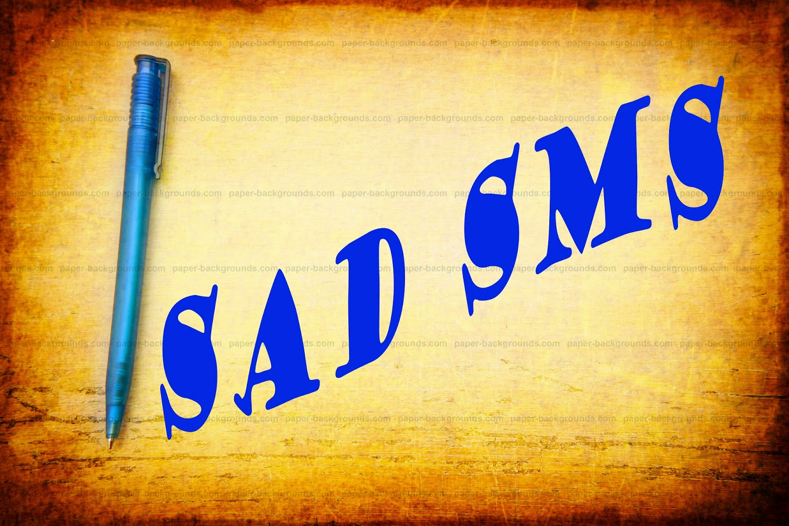 Sad sms download in mobile