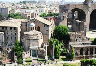 I Sotterranei della Basilica dei Santi Cosma e Damiano al Foro ed il Presepe del 1700 - Visita guidata Roma