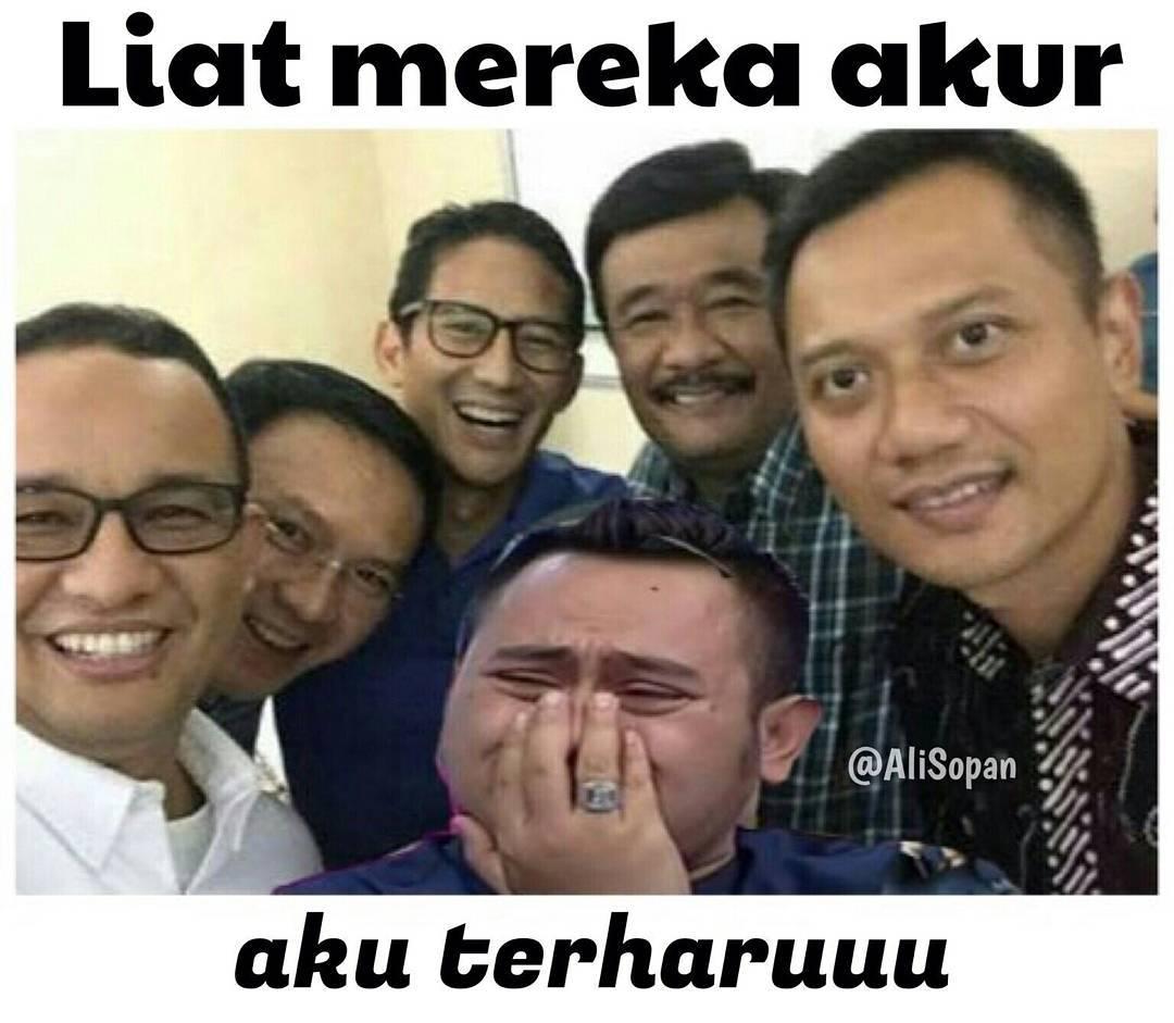 TamtomoVision Meme Politik Menjelang Pilkada DKI Jakarta