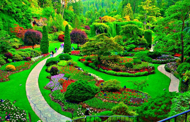 Butchart Gardens no Canadá