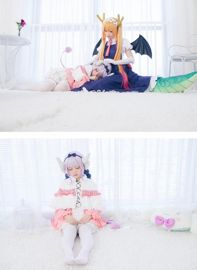 Miss Kobayashis Dragon Maid - Tohru & Kanna - Sleeping Room - Tamashi No Cosplayers