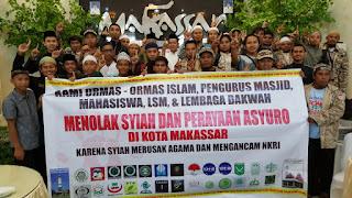 TEGAS! Muslim Sulsel Tolak Perayaan Hari Asyura Syiah