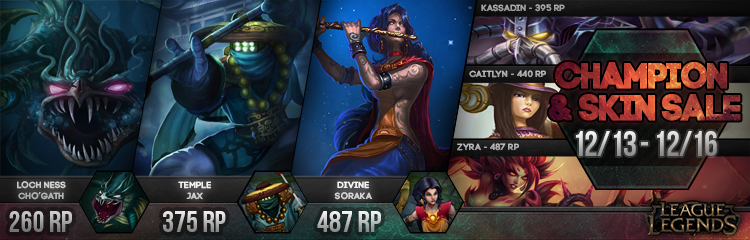 Surrender At 20 New Champion And Skin Sale 1213 1216
