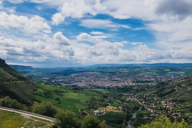 Panorama aveyron millau aqueduc tourisme
