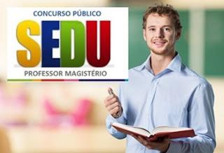 Edital Concurso SEDU-ES 2017