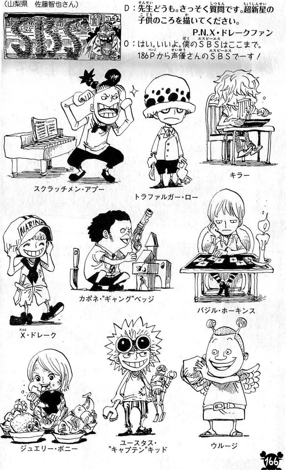 One Piece Sbs