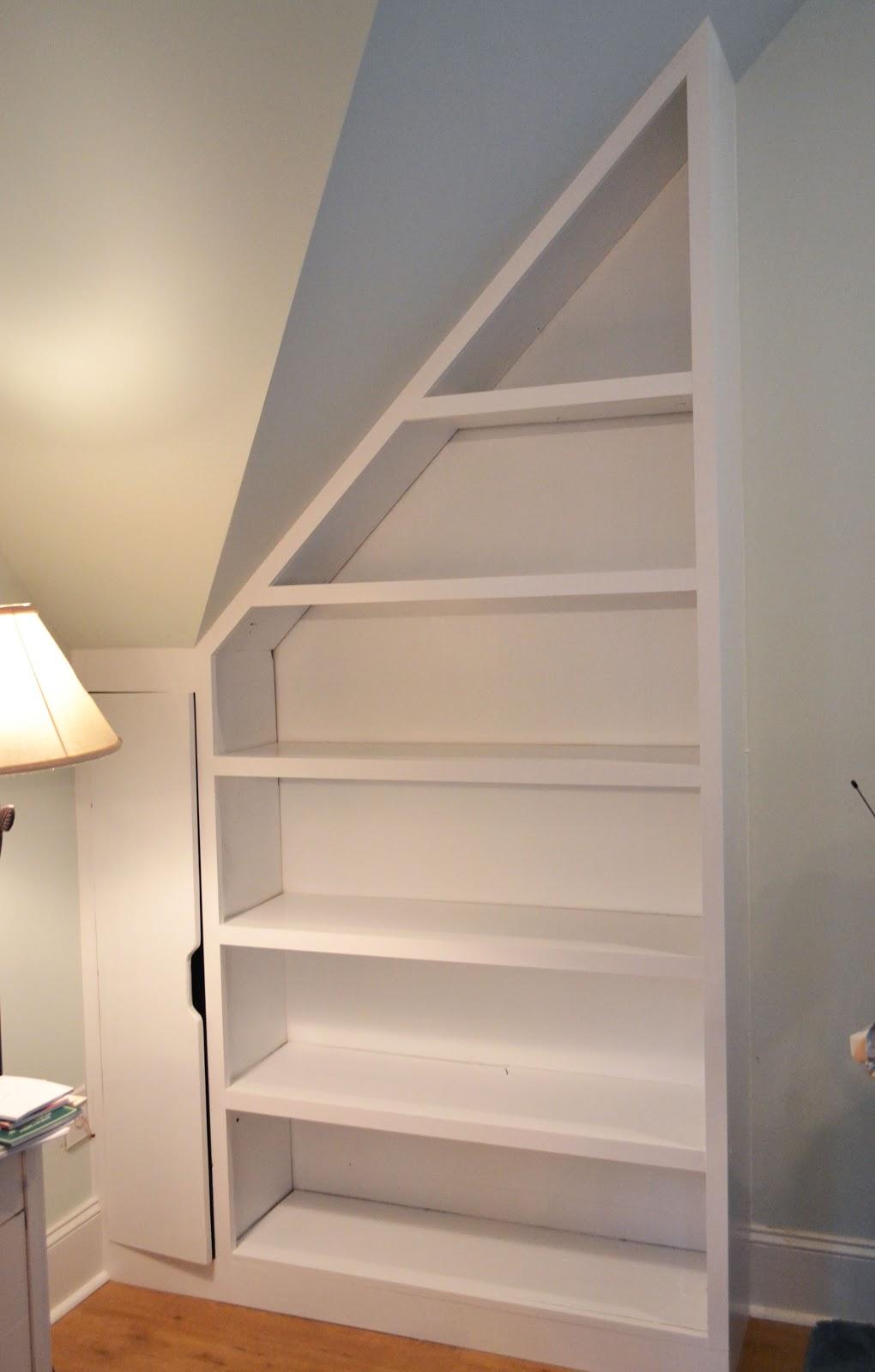 A Work In Progress Finally A Bookshelf