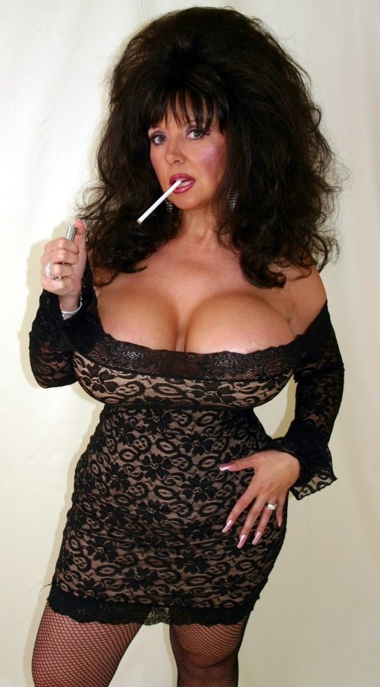Busty Deelite Smoking Gallery