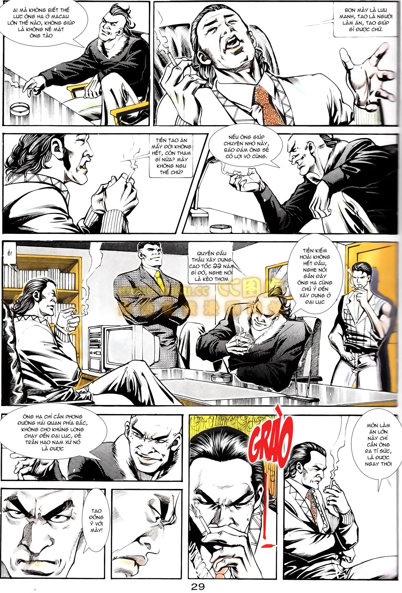 Người Trong Giang Hồ chapter 167: tội sống khó tha trang 17