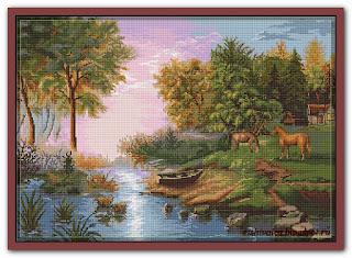 "Luca-S B431 ""Summer Landscape"""