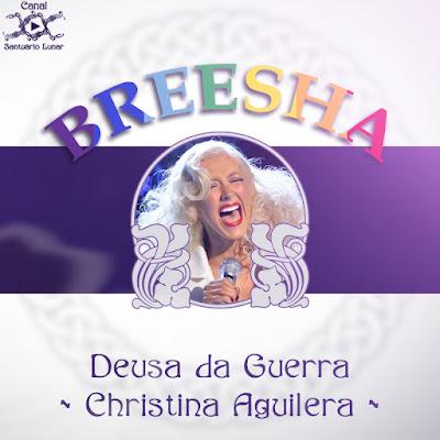 Mitologia Pópica - Deusa da Guerra - Christina Aguilera