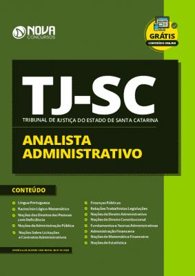 Apostila Concurso TJ SC 2020 Analista Administrativo Grátis Cursos Online