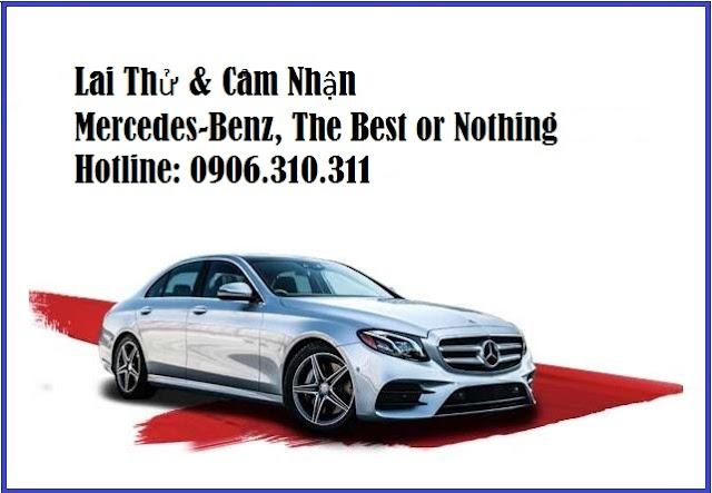 Lái thử và cảm nhận các dòng Mercedes mới nhất