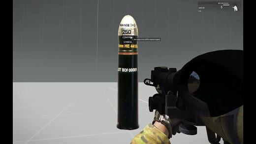 Arma3用の空中炸裂弾スクリプト