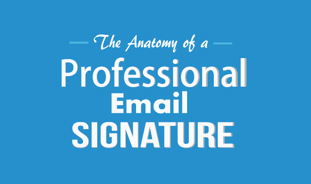 The Anatomy of a Professional Email Signature