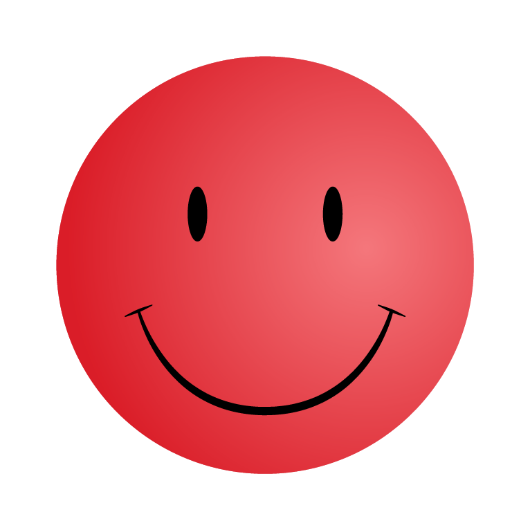 5 Red Smileys and Emoticons with Happy Face | Smiley Symbol