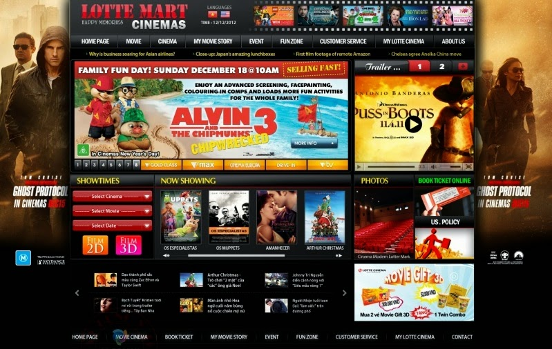 thiết kế web xem phim chuyên nghiệp