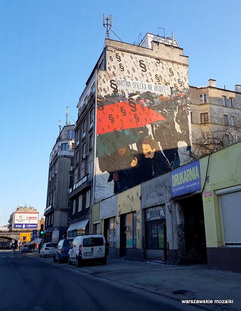 Warszawa Warsaw Praga Północ graffiti kamienica