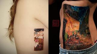 foto 4 de tattoos inspirados en obras de arte
