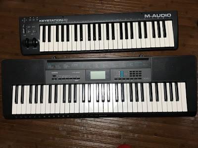M-AUDIOキーボード写真1