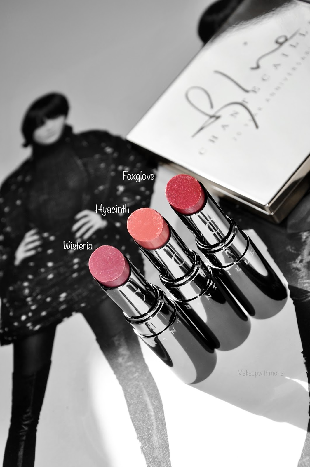 Chantecaille Lip Chic Lip Color Swatches