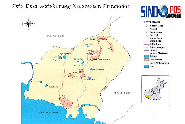 Profil Desa & Kelurahan, Desa Watukarung Kecamatan Pringkuku Kabupaten Pacitan