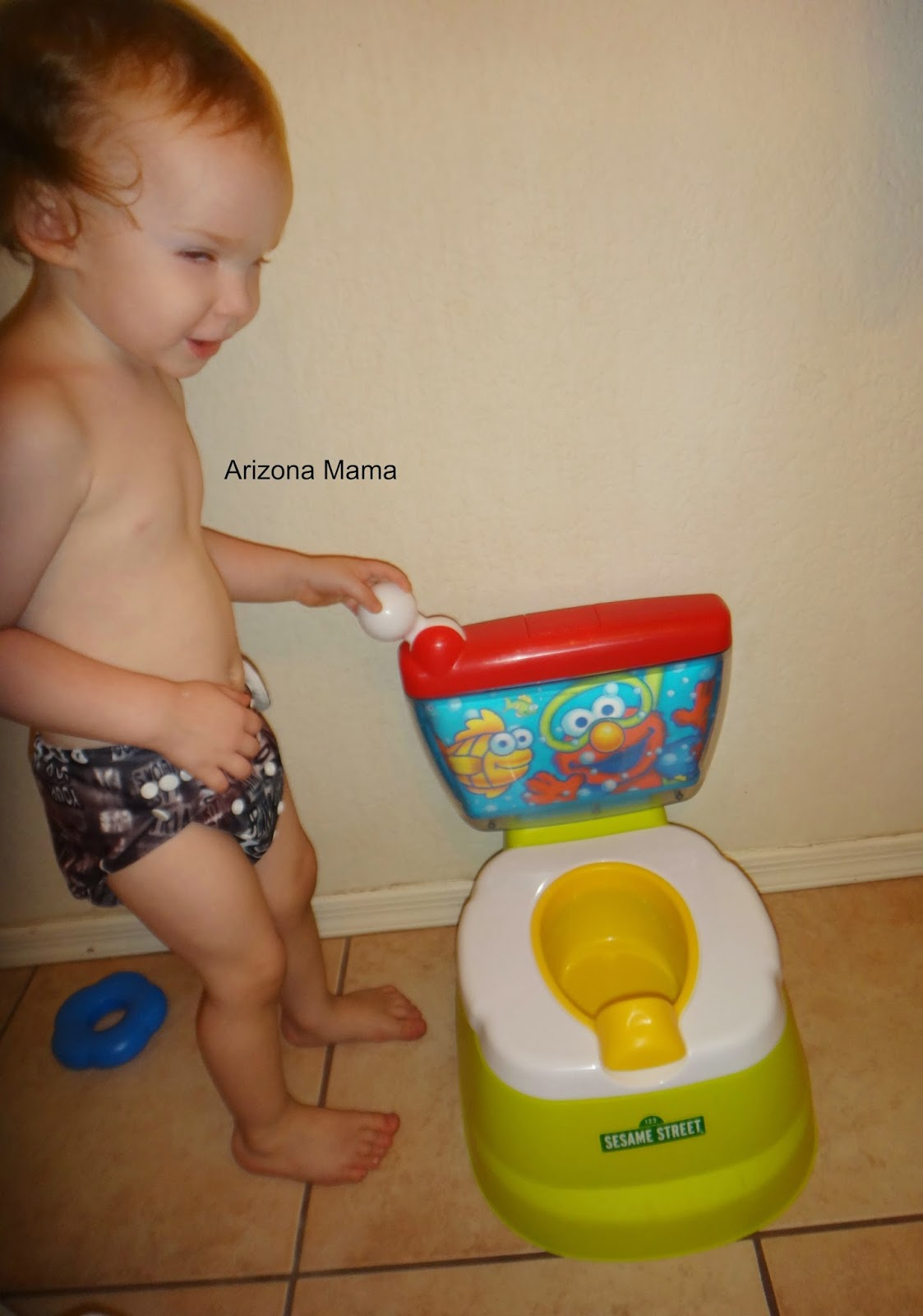 Elmo Potty Chair Floor Folding Arizona Mama Training With The Sesame Street