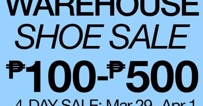 Shoe Warehouse Sale Philippines