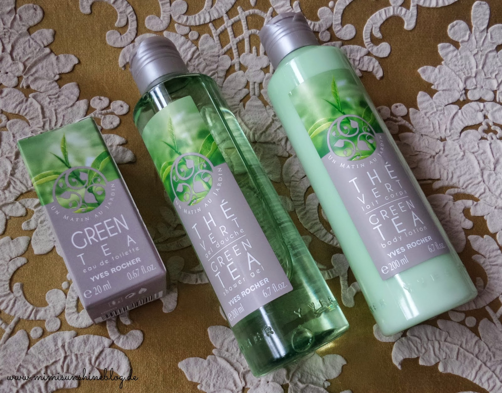 Yves Rocher Green Tea Serie