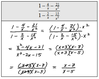 OpenAlgebra.com: Complex Rational Expressions