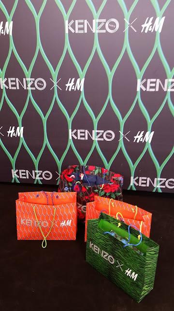 Kenzo x H&M madrid preventa