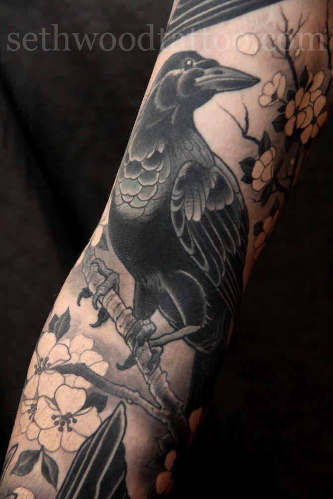 Tatuajes De Cuervos Poderes Y Simbolismo Belagoria La Web De