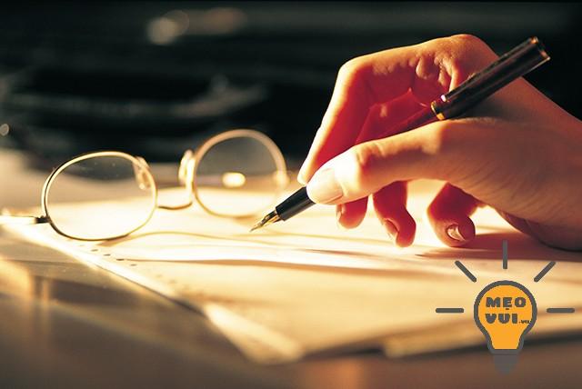 Lập dàn ý trước khi đặt bút viết bài