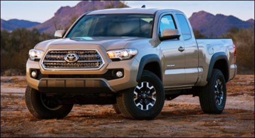 2017 Toyota Tacoma TRD Off-Road Release Date
