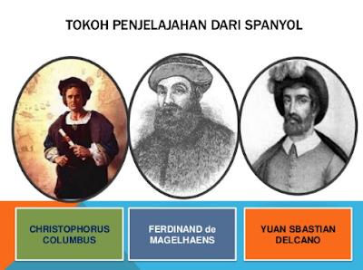 Tokoh Penjelajahan Samudera Bangsa Spanyol