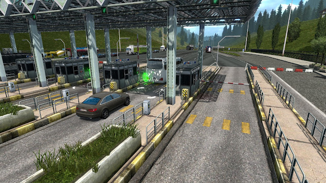 ets 2 automated tollgates in austria & poland screenshots 2
