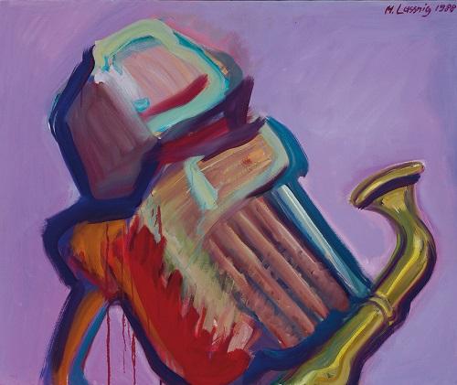 by Maria Lassnig - Musicista - 1988