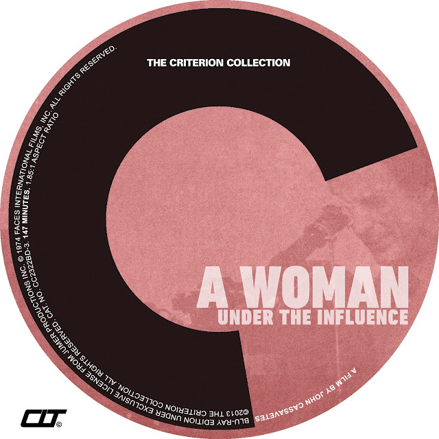 A Woman Under Influence Bluray Label