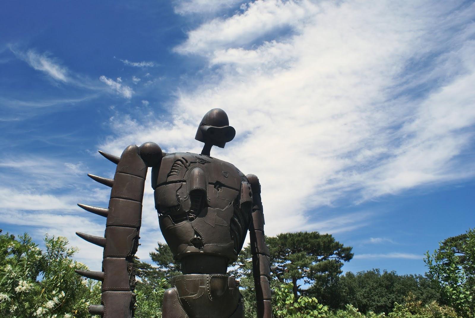 robot ghibli museum mitaka tokyo japan anime