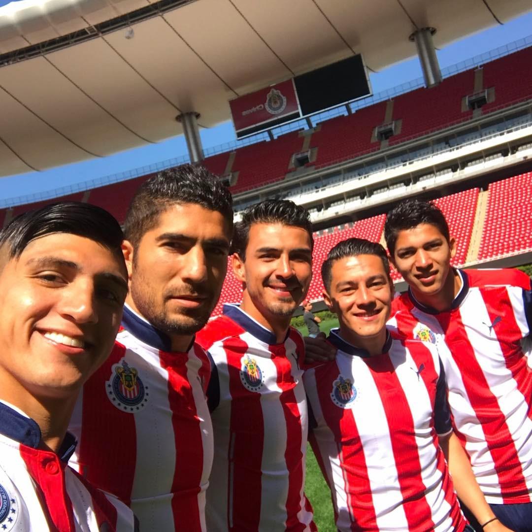 Pulido, Pereira, Alanís, Pérez y Zaldívar.